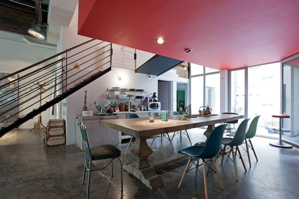 Amazing Loft avec deux terrasses