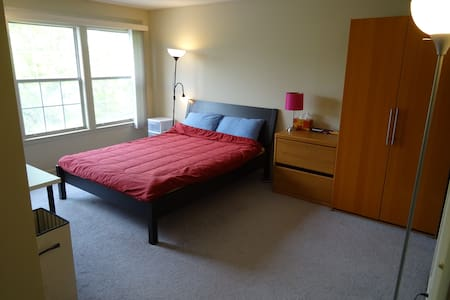 2BR Apt short drive from PU reunion - Princeton - Pis