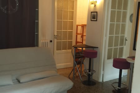 Joli et grand studio central - Cuisine séparée - Nizza - Appartamento