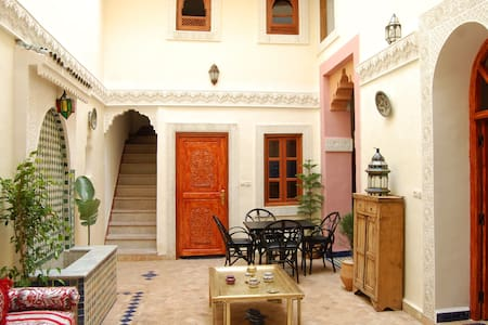 Dar Mounadim - Double Room En Suite - Fes