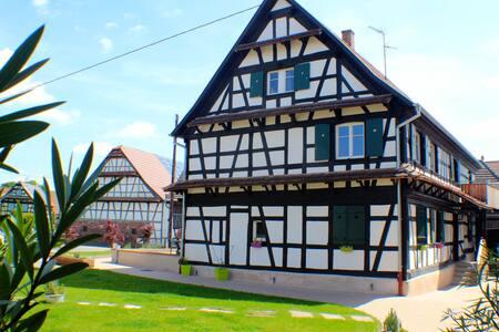 Maison Alsacienne pour 6 personnes - Appartement