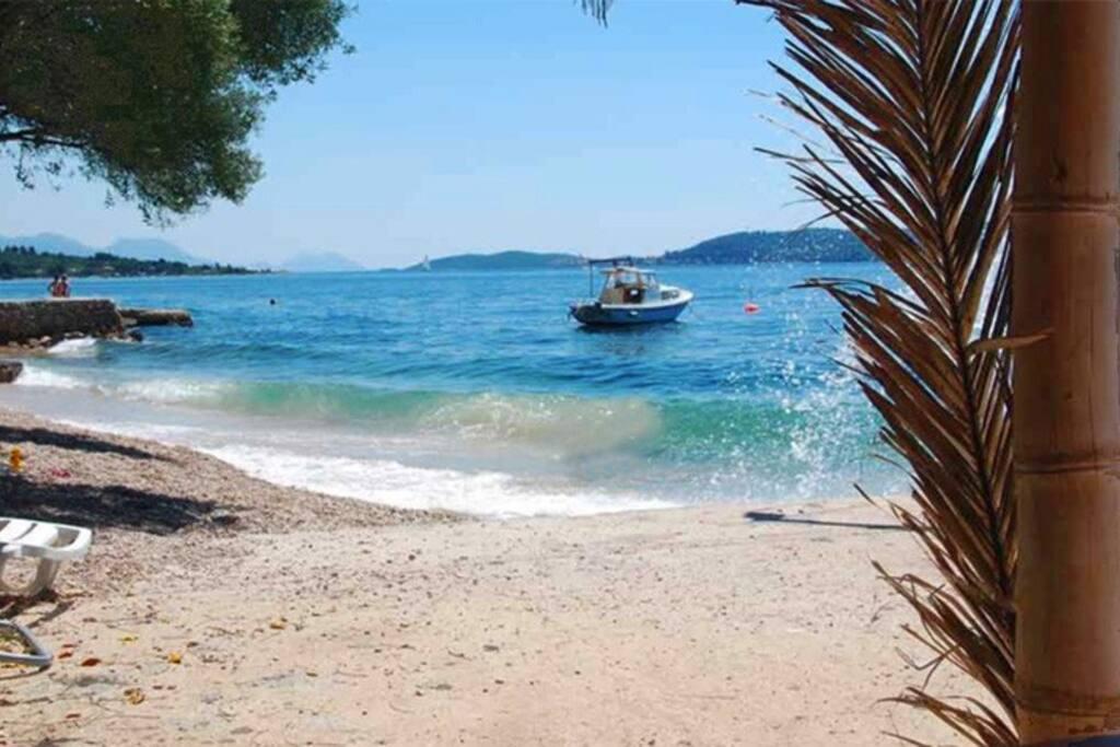 Strand und unser Fischerboot