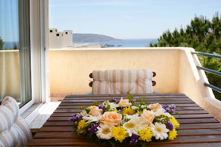Your lovely Beach home in Saronida - Daire