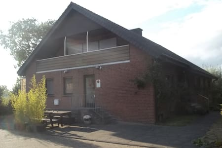 Wohnung im Außenbereich von Olfen-Münsterland - Olfen - Condominium