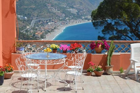 seaview room and private terrace - Taormina - Bed & Breakfast