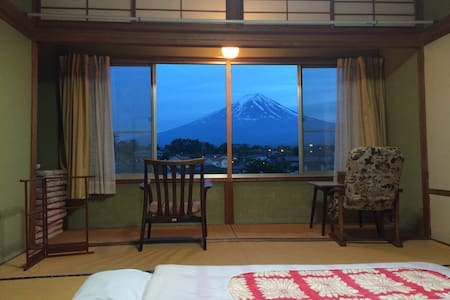 Mt. Fuji Traditional Japanese style room 1 - Fujikawaguchiko  - Hus