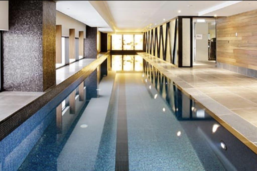 25 metre salt pool