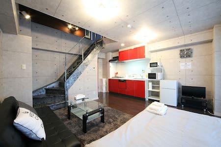 3 min to Nankai-Namba sta! Designer Condo for 7! - Apartment