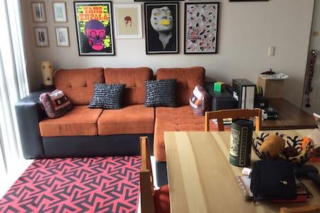 Una Habitación en departamento. - Wohnung