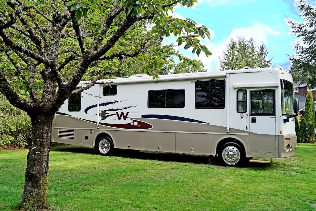2015 US Open RV Rental within walking distance.