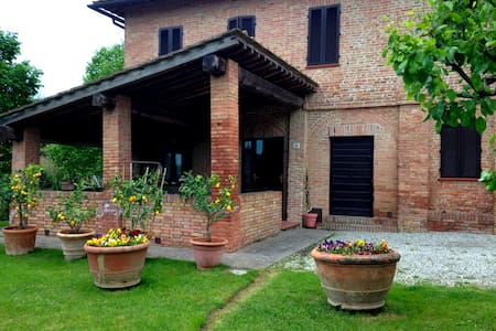 Lovely Tuscan Country House - Siena - Siena