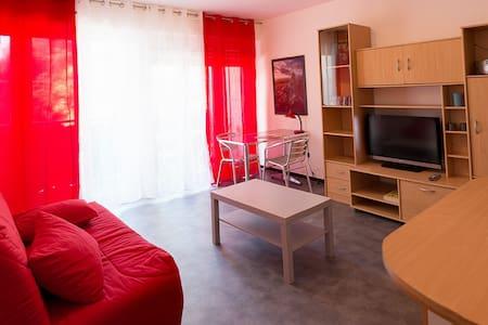 studio meublé,climatisé,proche de la gare . - Nîmes