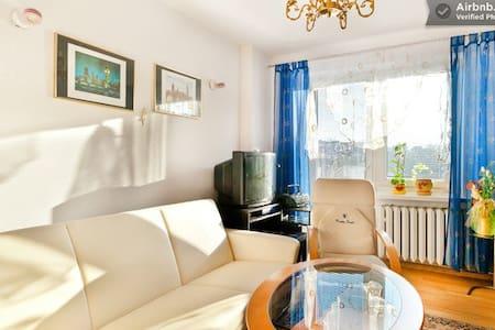 pokój z łóżkiem 2 osobowym w domu - Huis