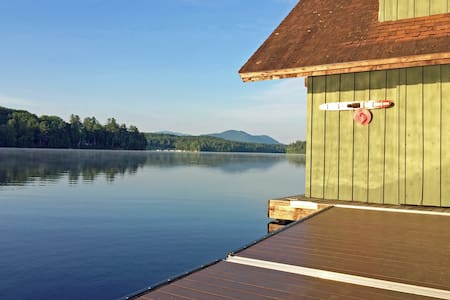 Pinehurst Retreat - On Lower Saranac Lake - Haus