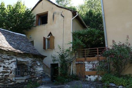 Bergerie réhabilitée en maison de vacances - Ispagnac - Huis