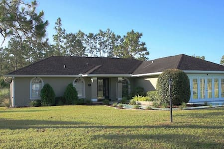 3/2 Home w/ Heated Pool at Ocala National Forest - Ocala - Bungalou