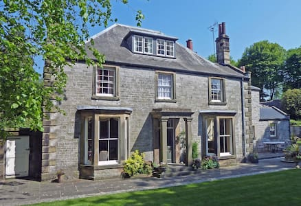 The Old Vicarage B&B - Double Bedroom - Tideswell