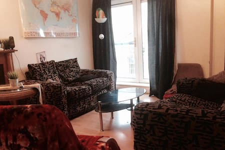 Double bed in the center of dublin