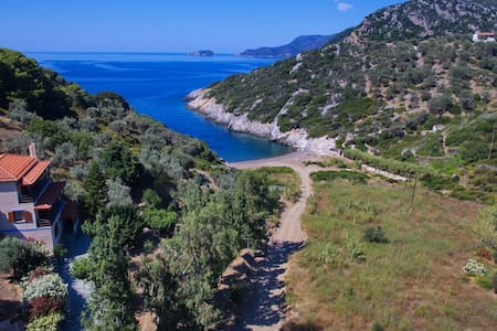 Aparktion, Between Green Wild Nature and Blue Sea! - Wohnung