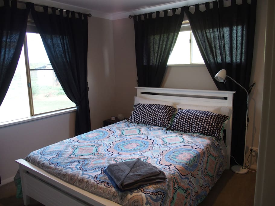 Our Queen Size Bed  (See our other listing for the King Size Bed)