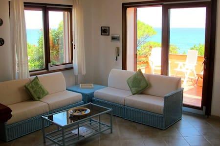 Casa sulla spiaggia con giardino - Appartamento