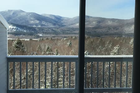 North Conway Majestic Mountain View - Condominio