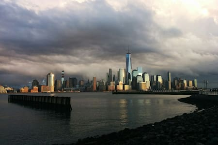 Private Luxury BR/NYC Skyline View/Hudson River - Jersey City - Apartment