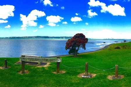 3 mins to beach,  20mins from city - Auckland
