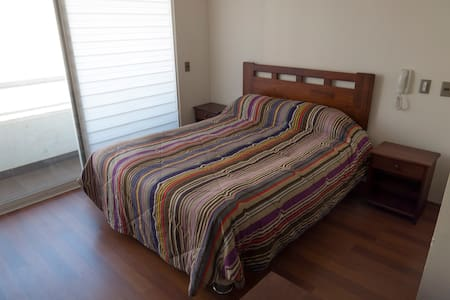 Studio with Terrace, subway Irarrazabal station - Santiago - Apartment