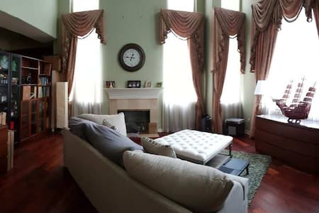 Spacious Room in Beautiful large - 一軒家