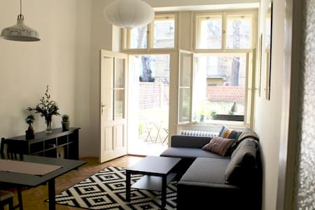 NEW : Modern Studio with Terrace - Prag - Wohnung