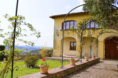 Private House in Chianti with pool - House