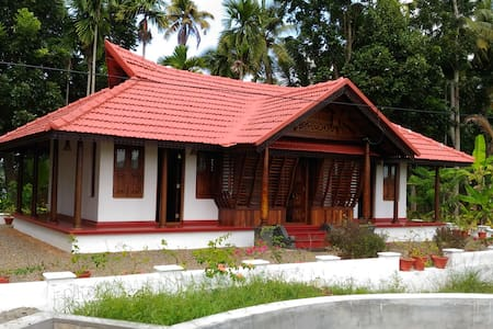 Vacation Waterfront Villa - 1 Bedroom - Backwaters - Alappuzha - Huis