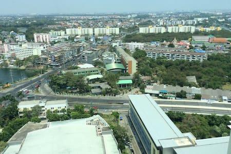 Private Condo near  Airport, BKK - Apartamento