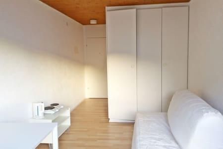1/2 h from Zurich, bright&cozy mini-studio for 1-2 - Wollerau - Leilighet