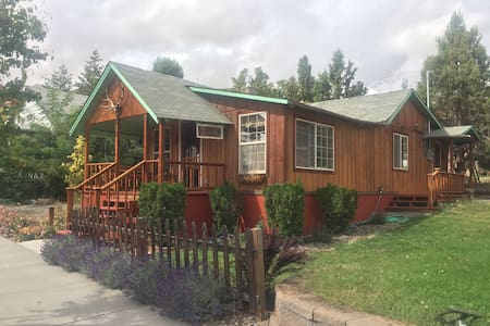 Maupin antique cabin right 'downtown' - Maupin - Kabin