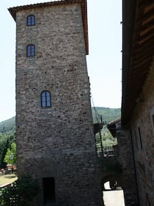 1st floor of the medieval tower of Mugnana Castle - Castle