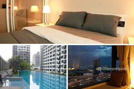 31st fl Great view, 3min to Airport link Pool WIFI - Condominium