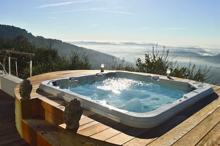 Splendide Villa d'architecte vue panoramique mer - Cabris
