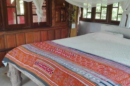 Master bedroom in our jungle house - Overig