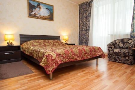 Уютная однокомнатная квартира комфорт - класса - Leilighet