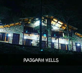 Rajgarh hills - Kotli - Chatka