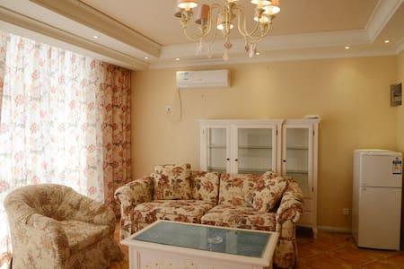 黄金海岸全海景高层两室度假公寓出门口就是私属海滩 - Qinhuangdao