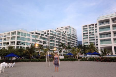 Playa Dormida, espectacular sitio - Santa Marta