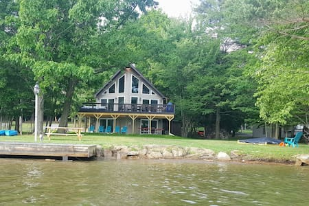 Beautiful Private Waterfront Home - DuBois