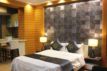 地铁五号线猎德站D出口,46平大床公寓 - Guangzhou - Serviced apartment