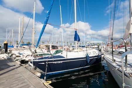 Yacht ready for sailing..Velero. - Las Palmas