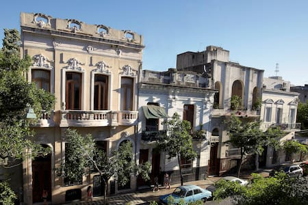 Room with own terrace in palazzetto - Buenos Aires - Pensió