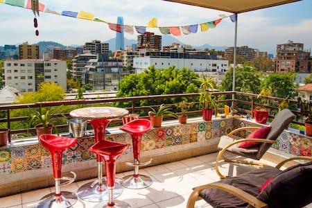 ROOM+PRIVATE BATHROOM in BEAUTIFUL APARTMENT - Providencia - Apartment