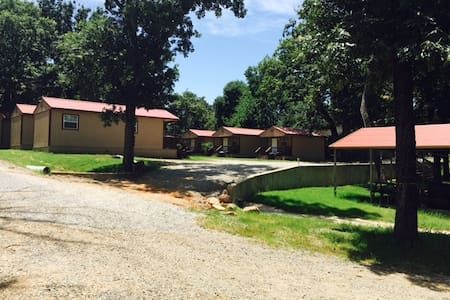 Angler's Hideaway Cabins on Lake Texoma Cabin 6 - Mead - Cabane